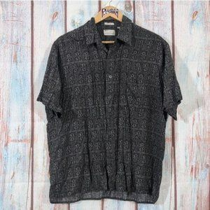 💎 Natural Issue Silky Touch Button-Up Grey Size L